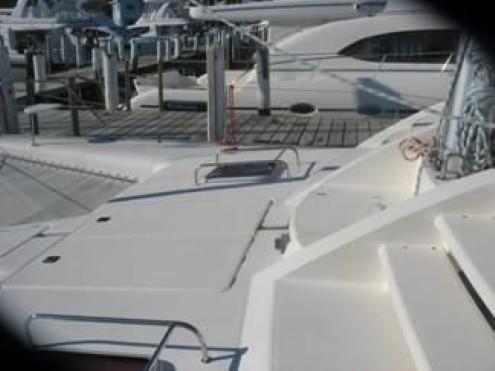 Preowned Sail Catamarans for Sale 2005 Leopard 47 Deck & Equipment